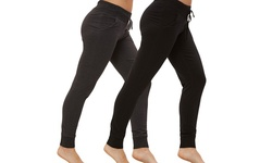 Bally Women's Fitness Cuffed Fleece Pant - Black - Size: Small