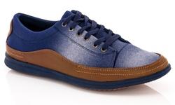 Franco Vanucci Grec-1 Lace-up Men's Sneaker - Navy - Size: 11