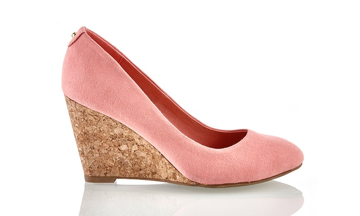 02ab06ee2bb Sociology Women s Closed Toe Wedges - Pink - Size  6.5 - Check Back ...
