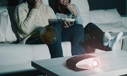 Aduro Portable Multimedia Projector - Black (VP15)