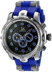 Joshua & Sons Men's Silicone Strap Watch: Jsgp71bu/blue Band