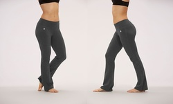 Bally Fitness Tummy Control Pant - Charcoal - Size: Large