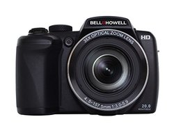 Bell+Howell 20MP 35x Optical Zoom Digital Camera - Black (B35HDZ)