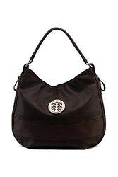 MKF Collection Belinda Medallion Hobo Bag - Coffee