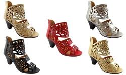 Ny Vip Heeled Sandals: Vip819-black/11