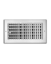 "TruAire 14"" x 8"" Adjustable 1 Way Wall/Ceiling Register (H210VM 14X08)"
