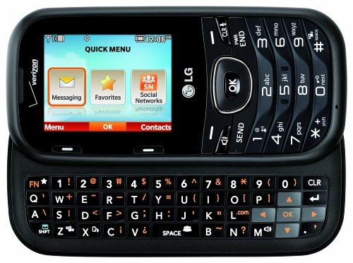 lg cosmos 2 cellular phone for verizon wireless black vn251 rh blinq com Verizon Wireless LG Cosmos Manual lg cosmos 2 factory reset