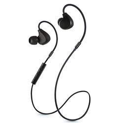Jarv Flight In-Ear Bluetooth Water/Sweat resistant Earbud with Memory Wire