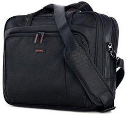Elevate Slim Briefcase: Black