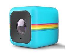 Polaroid Cube HD 1080p Digital Camcorder Full - Blue (POLC3BL)