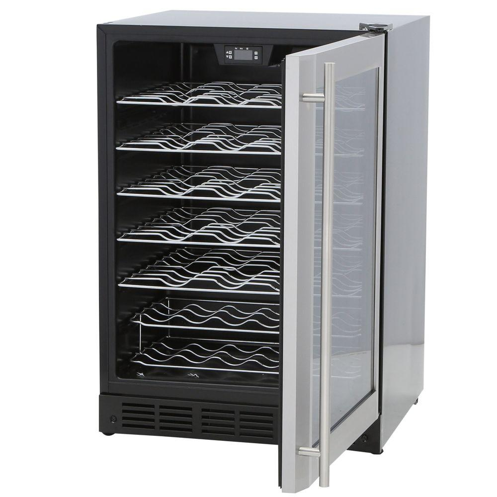 ... Magic Chef 50-Bottle Wine Cooler w/ Stainless Steel Door Frame (MCWC50DST) ...  sc 1 st  Blinq : magic door wine - pezcame.com
