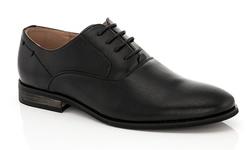 Franco Vanucci Men's Dress Shoe Lace-up - Black - Size: 12