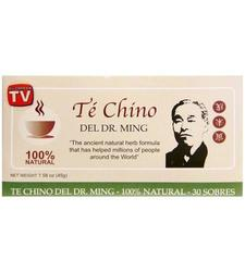 Dr. Ming Te Chino Del Chinese Herbal Tea 100% Natural - 30 bags