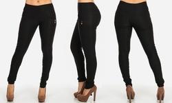 ModaXpressOnline.com Women's Skinny Pants Style - Black - Size: Medium