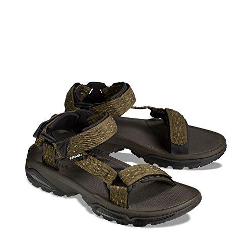 94567c8ce9f4 ... Teva Men s Terra FI 4 Sandal - Madang Olive Webbing - Size 10.5 ...