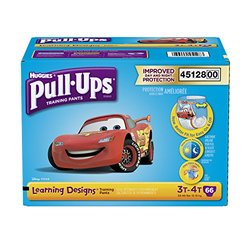 Pull-Ups Learning Designs Training Pants for Boys, 3T-4T, 66ct