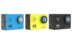 iPM 4K HD 12MP Action Camera w/ WiFi & Waterproof Case - Black (IPMY4K)