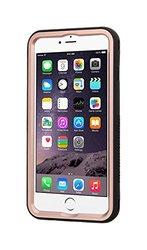 Apple iPhone 6s Plus/6 Plus Rose Gold/Black VERGE Hybrid Case