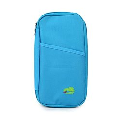 Passport and Travel Document Holder - Blue