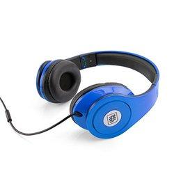 Sonic Wave 1000 Dj Headphones: Blue