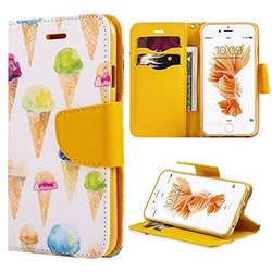 Wallet Case: Ice Cream/iPhone 6 Plus
