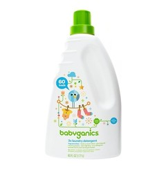 BabyGanics - 3x Laundry Detergent Fragrance Free - 60 oz.