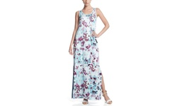 Catherine Catherine Malandrino Floral Maxi Dress - White - Size: Small