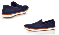 Solo Warren Slip-on Sneakers - Navy - Size: 12