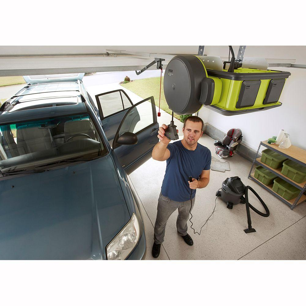 Ryobi Garage Door Opener Retractable Power Cord Reel Gdm330