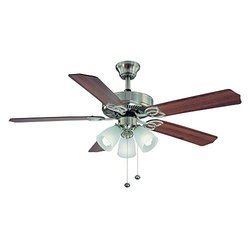 Hampton Bay YG268-BN Brookhurst 52 in. Indoor Brushed Nickel Ceiling Fan