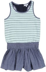 Splendid Jersey Chambray Dress - Light Blue - 10 (Toddler)