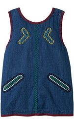 Stella Mccartney Kids Mae Denim Top - Blue - Size: 3T