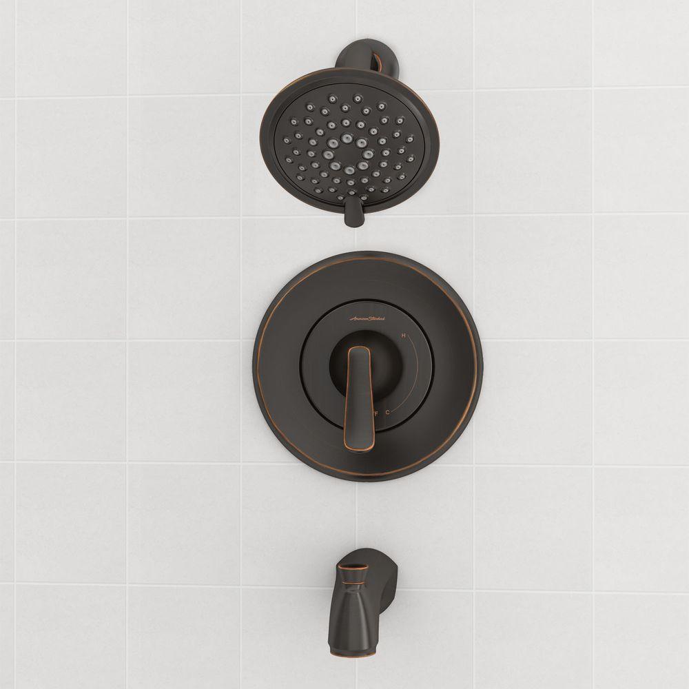 American Standard Chatfield 1 Handle 3-Spray Tub/Shower Faucet ...