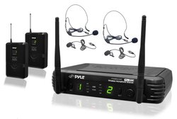 Pyle Premier Series Professional UHF Mic System (PDWM3400)