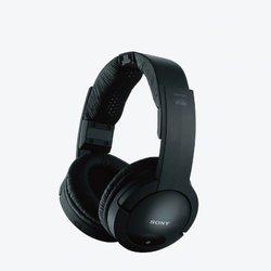 Sony Wireless Stereo Headphone System - Black