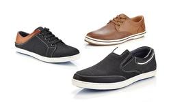 Marco Vitale Men's Low Top Fashion Sneakers: Navy/41002 - 13