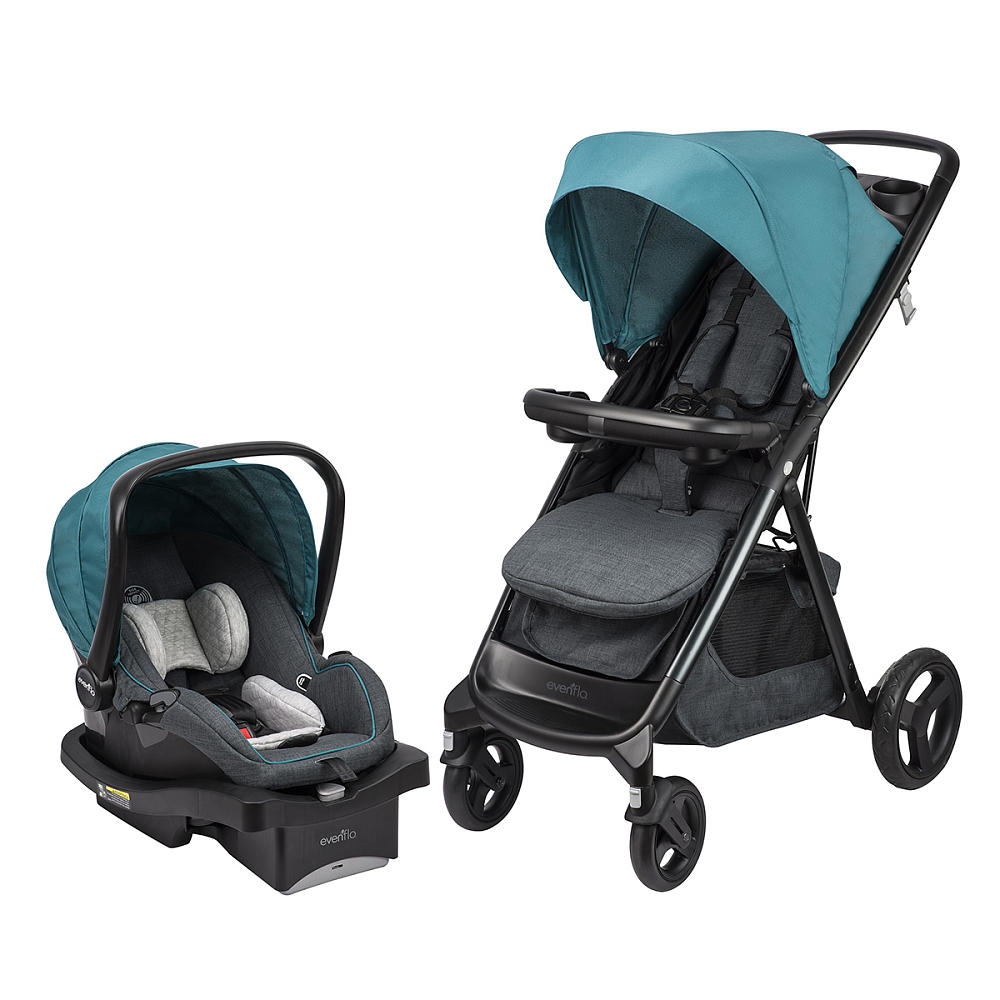 Evenflo Lux Travel System With Litemax  Infant Car Seat