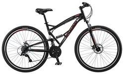 """Schwinn S29 Men's 29"""" Wheel Full Suspension Mountain Bike - Black"""