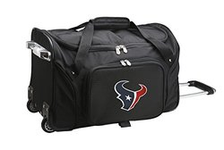 "NFL 22"" Houston Texans Duffel Bag - Black"
