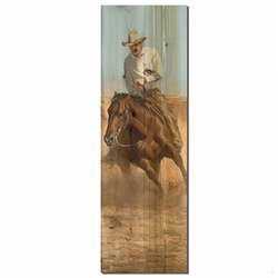 WGI-GALLERY Working Girl Wooden Wall Art - 824