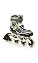 Rollerblade Women's Tempest 90 W Performance Skate - Silver/Green - Sz: 7