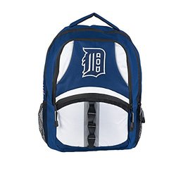 MLB Detroit Tigers Captain Backpack, 18.5-Inch, Navy