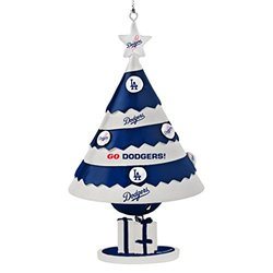 "MLB Los Angeles Dodgers 5"" Tree Bell Ornament - Blue"