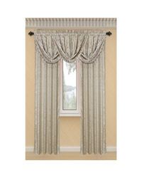 Window Elements Dorothy Extra Wide Rod Pocket Single Curtain Panel - Taupe