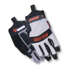 Memphis 3 Finger Multitask Fasguard Gloves Grip Rite - Size: Large