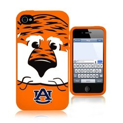 NCAA Auburn Tigers Mascot Soft Iphone Case,Fits Iphone 4 and 4s