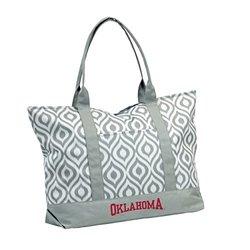 NCAA Oklahoma Women's Ikat Tote Bag