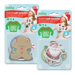 DCI Instant Ugly Sweater DIY Kit, 6 Piece set