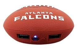 NFL Atlanta Falcons Phone Charger, One Size, Brown