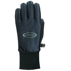 Seirus Innovations Men's All Weather Gloves - Black - Size: Large